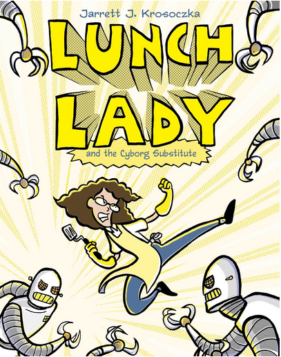 lunch lady books