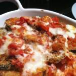 vegetarian eggplant parmesan