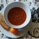 tomato pesto soup