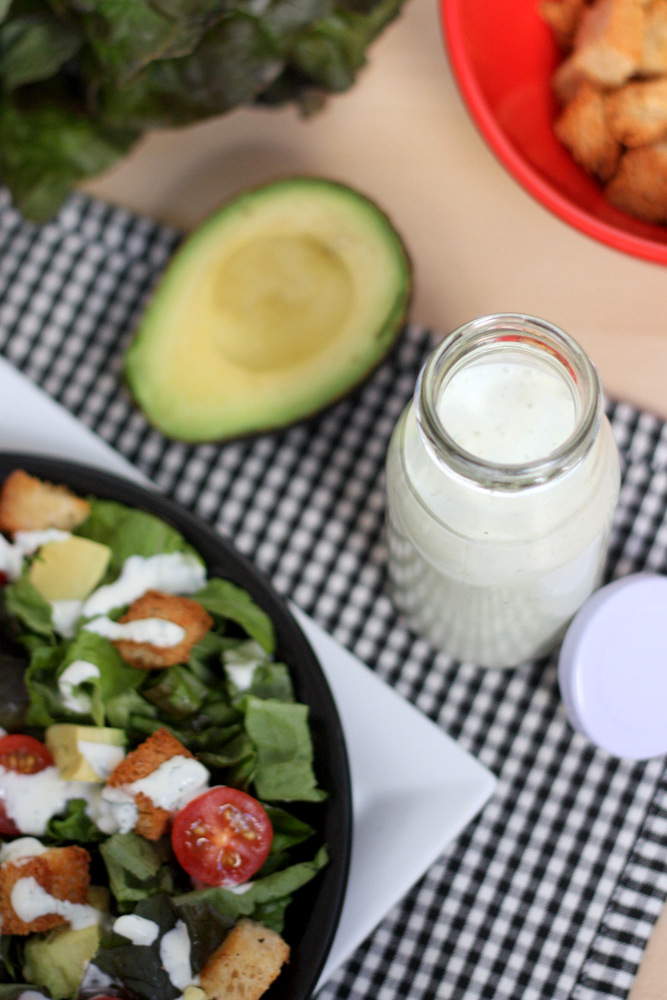 how to make homemade ranch dressing from scratch