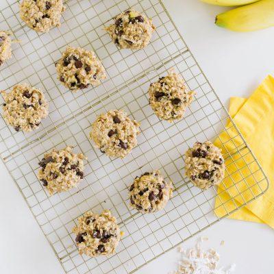 healthy banana cookie
