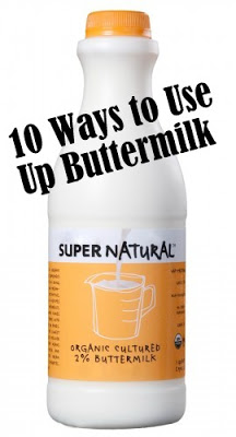 10 ways to use up buttermilk