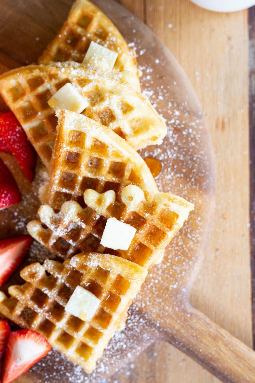 crispy waffle recipe