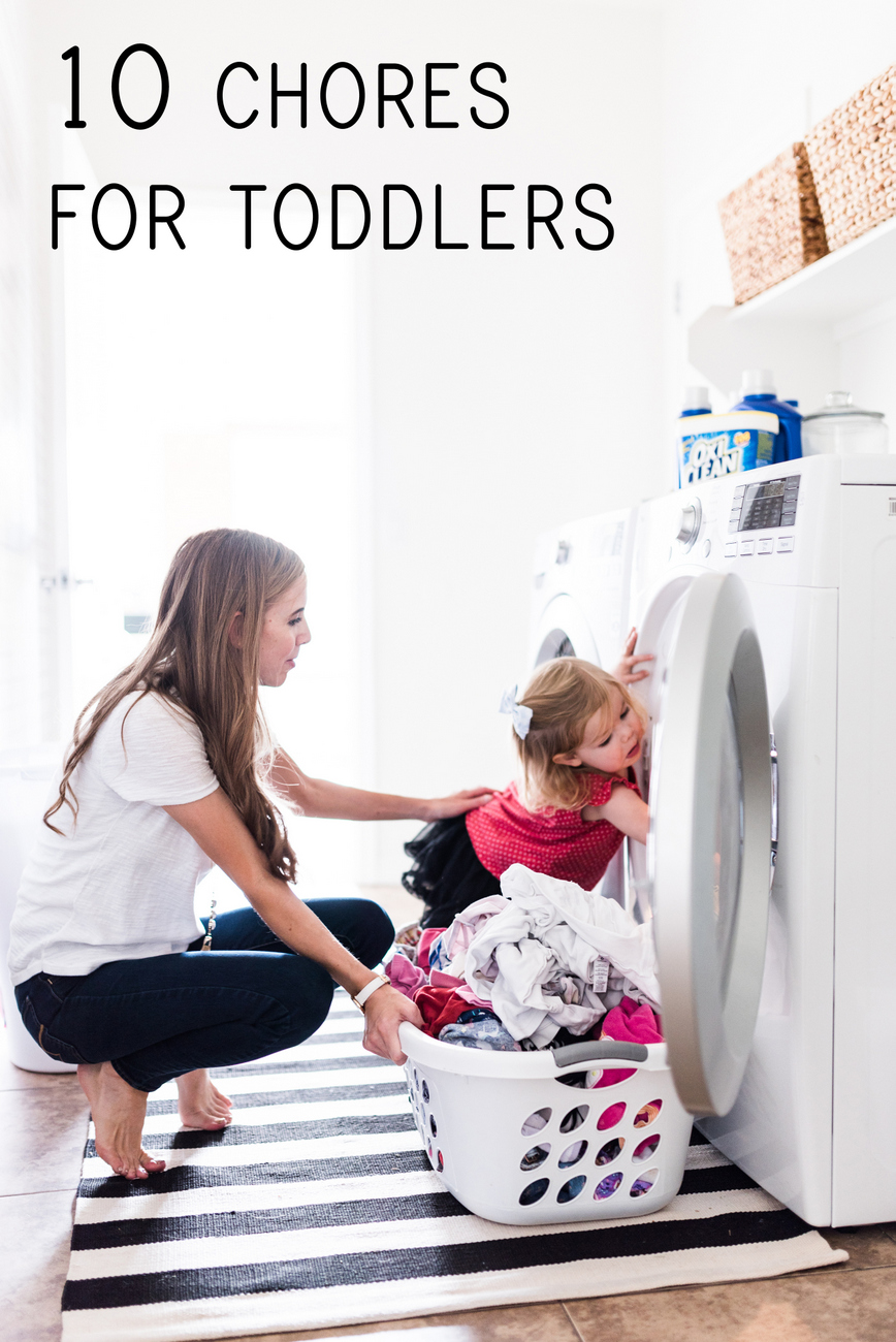 10 chores for toddlers