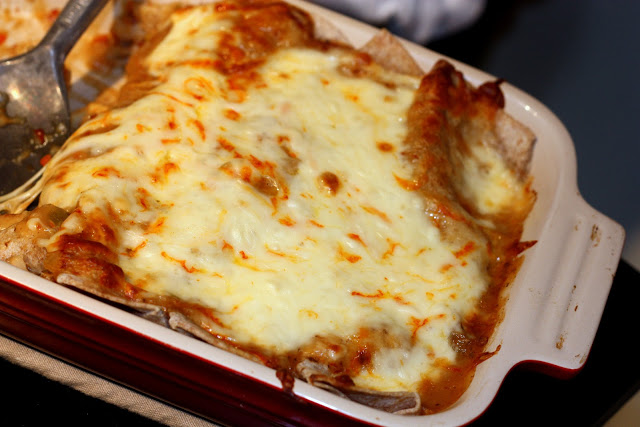 Vegetarian Recipe #21: Butternut Squash Enchiladas - Everyday Reading