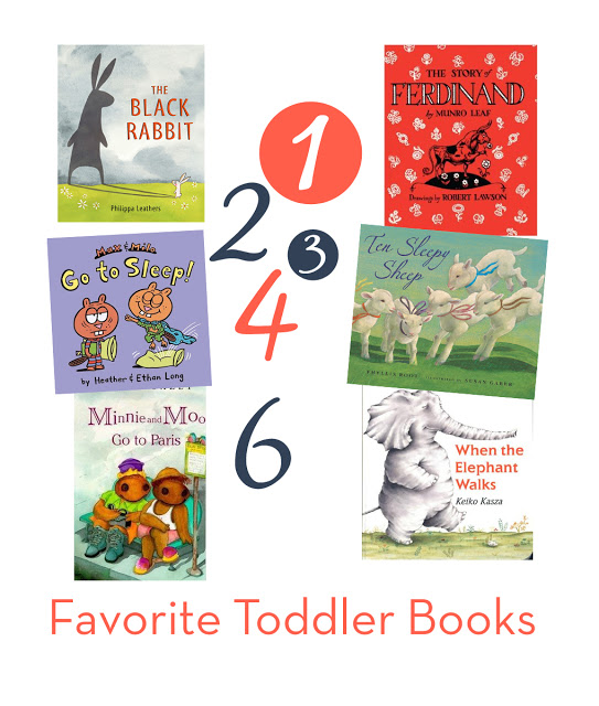 Six great books for toddlers