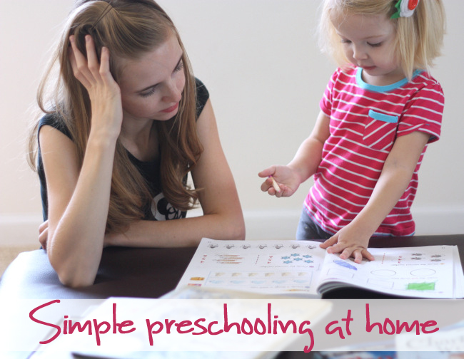 An easy preschool curriculum for 3-5 year olds