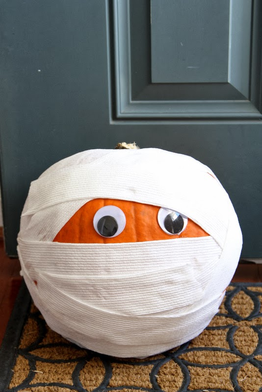 mummy pumpkin ideas