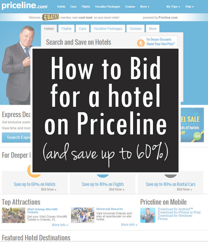 priceline name your own price hotel
