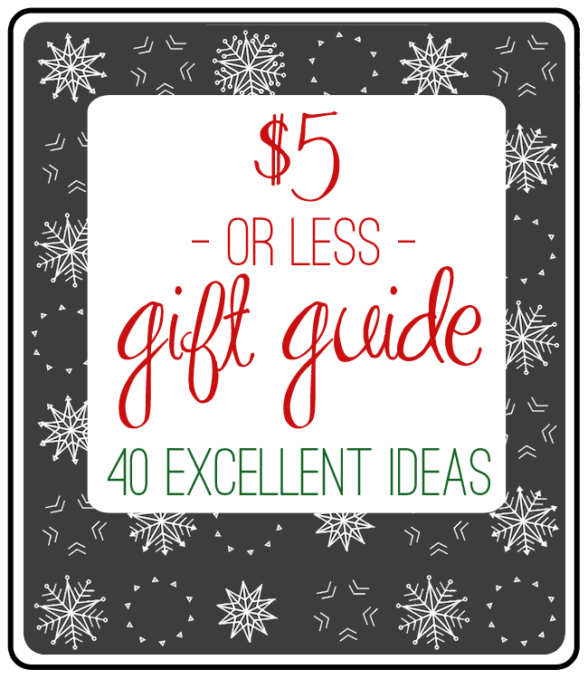 Gift guide 2013 christmas gift ideas 2013 little sisters array the 5 or less gift guide 2013 edition everyday reading rh everyday fandeluxe Gallery