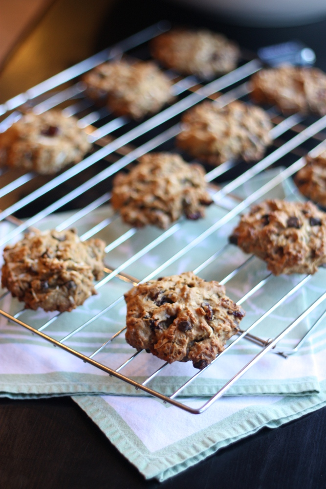 Loaded Breakfast Cookies - totally easy cookies stuffed with healthy and delicious ingredients. Make a double batch and freeze the extras for quick breakfasts and snacks.
