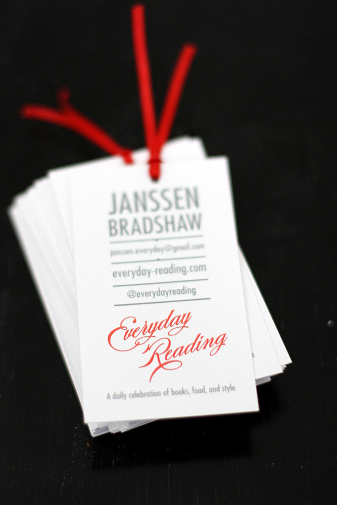 A Tiny Bookmark Business Card - Everyday Reading