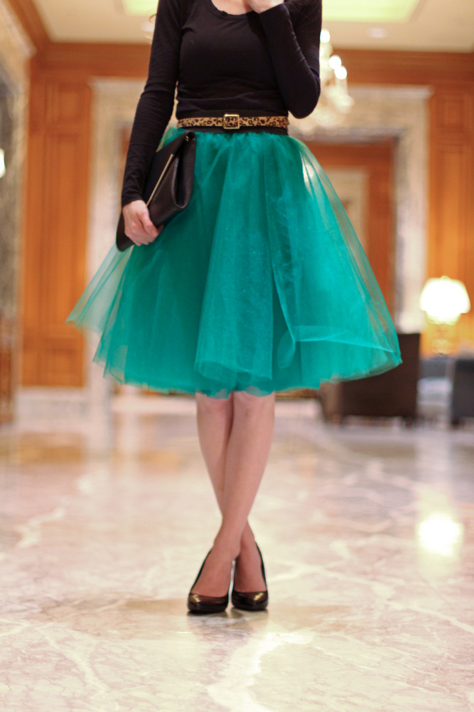 An Easy Tulle Skirt Tutorial Everyday