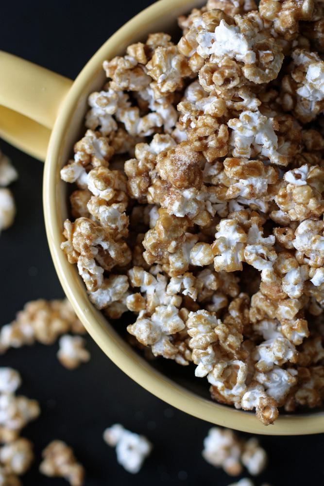 simple caramel popcorn