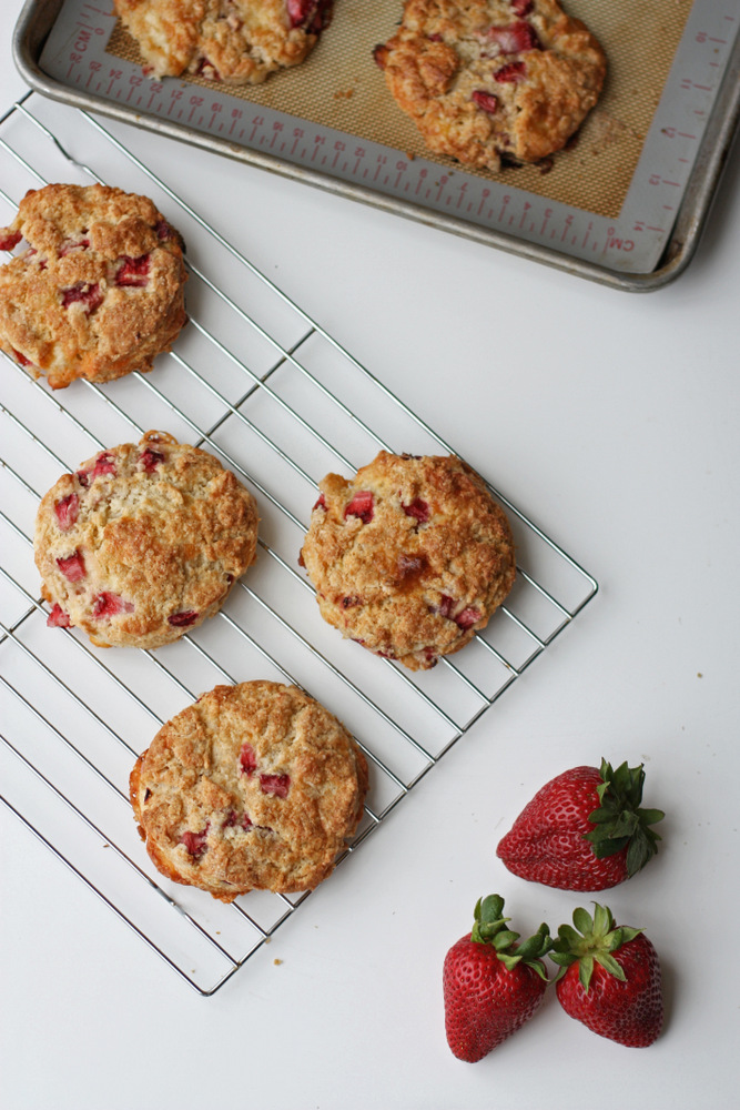 Strawberry and Brie Scones