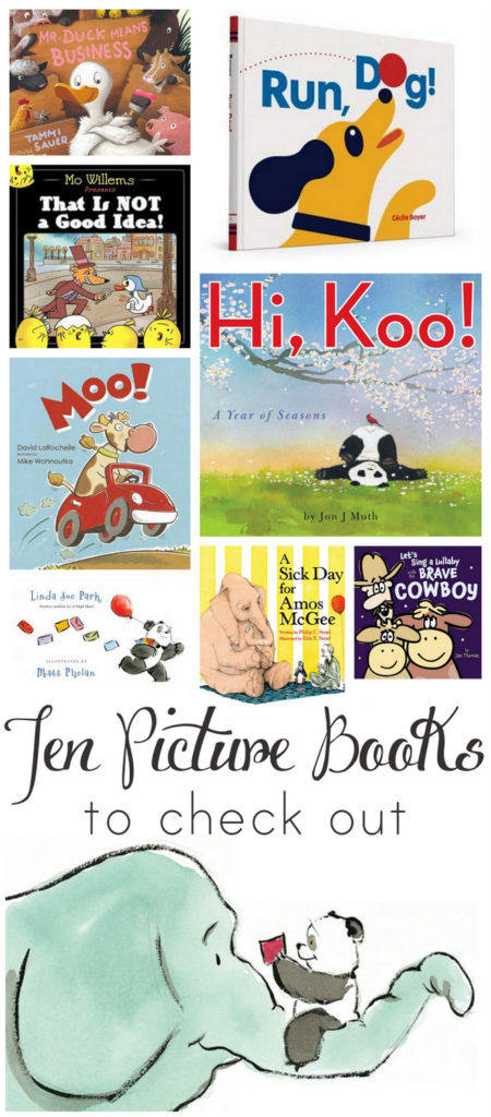 10 fantastic picture books. These make GREAT end-of-year gifts for teachers!