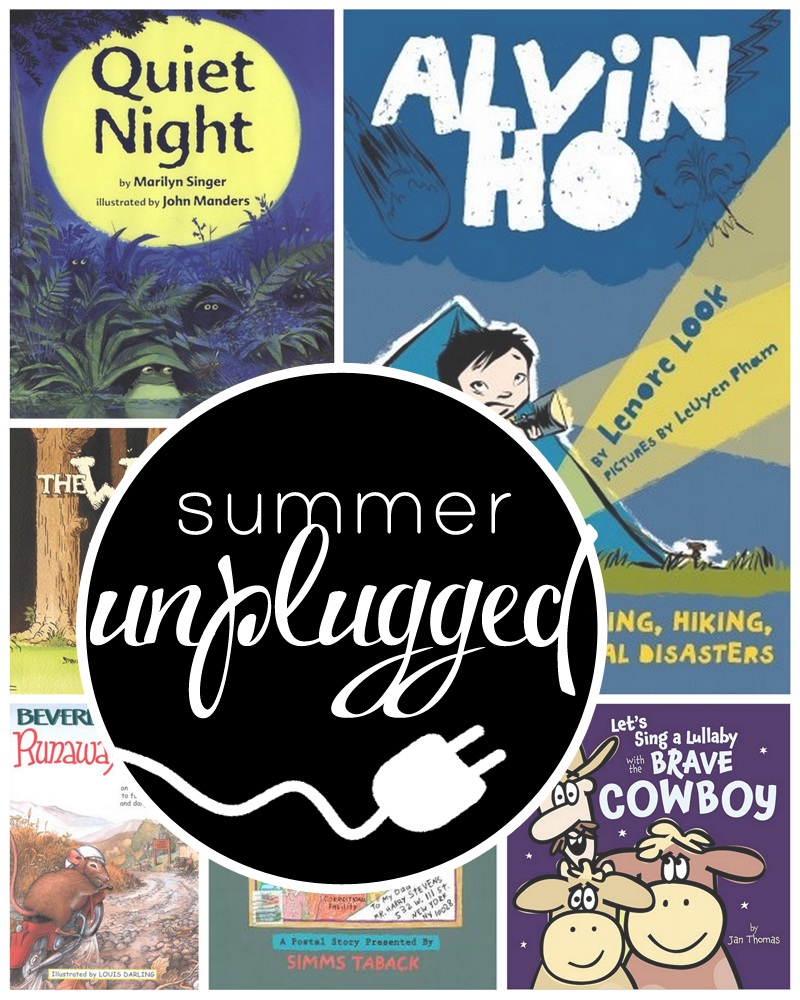 Weekly themed booklists (picture books and chapter books) with related activities and projects to keep your kids occupied all summer long
