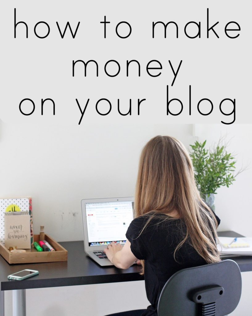 making money from a blog