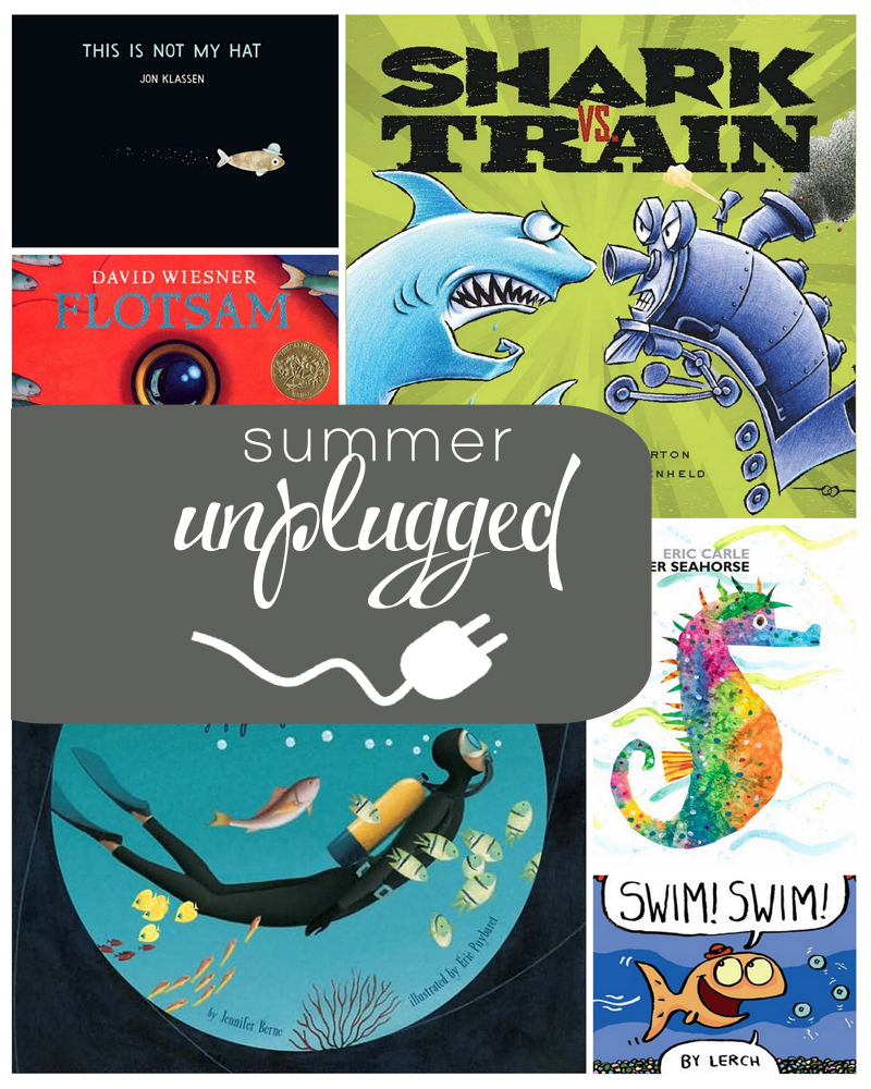 under the sea themed books