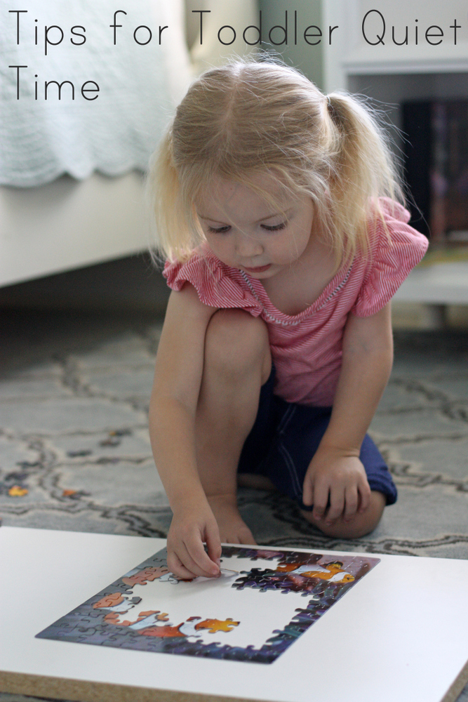 GREAT article about getting your toddler into the habit of having 2 solid hours of quiet time daily once their regular napping days are done. No mommy & toddler time, no electronics, just some alone time for your child to build up their imagination, become a little more independent, and still allow you to have some time to yourself