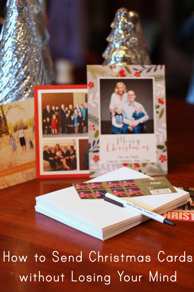 How to Do Christmas Cards Without Losing Your Mind - Everyday Reading