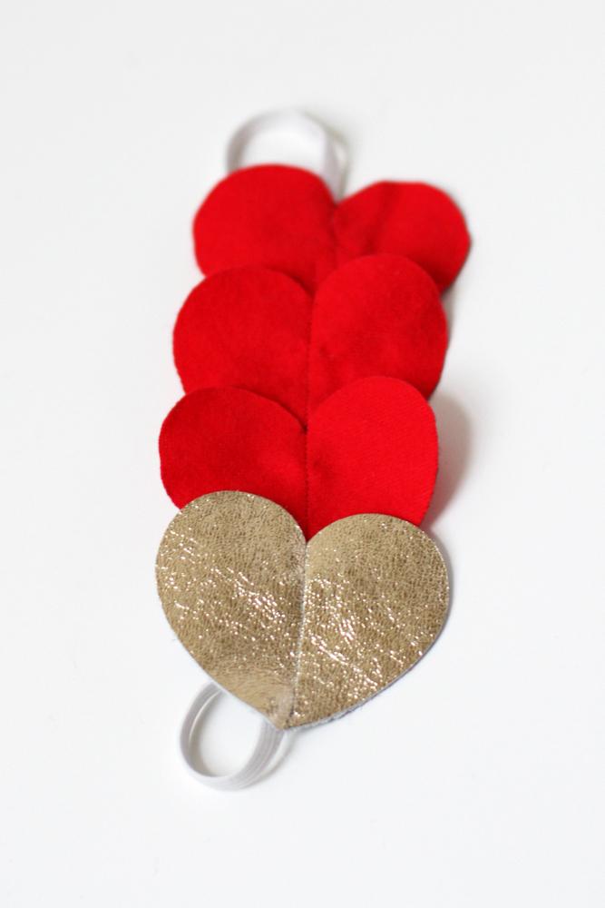 valentines day headband