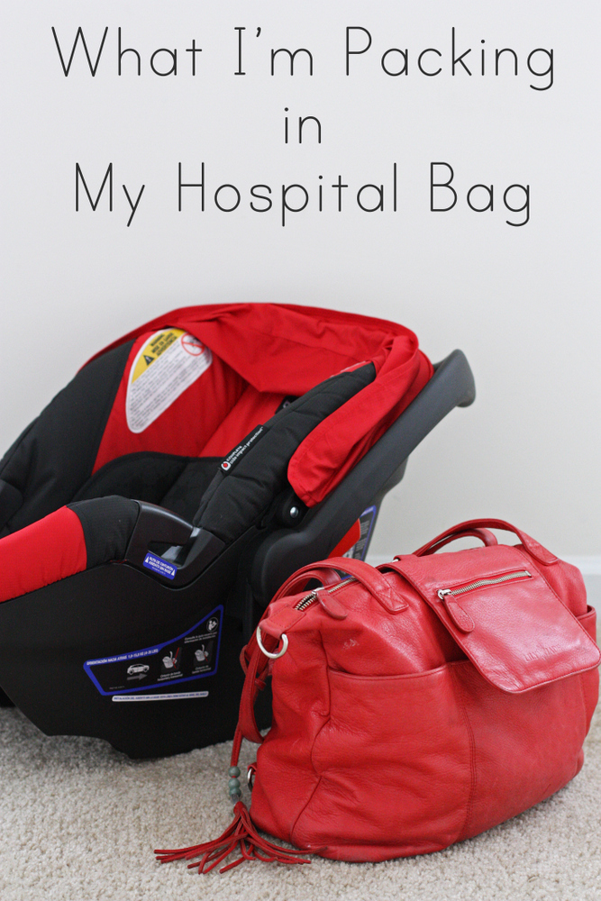 What this third-time mama is packing for a hospital stay
