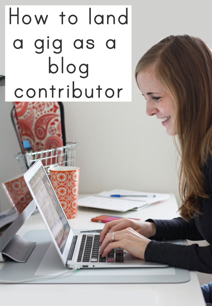 Looking to be a contributor? Here's some great tips for snagging a gig!