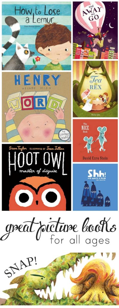 Fantastic new picture books your whole family will love