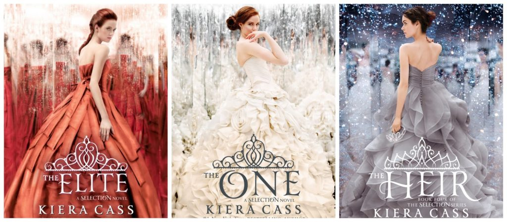 The Selection Series books by Kiera Cass