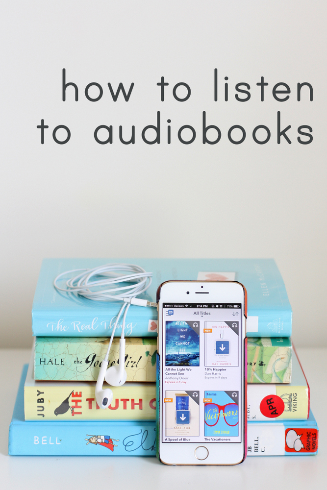 How to get started listening to audiobooks. Where to find titles, when to listen, and lots of recommendations for great audiobooks!