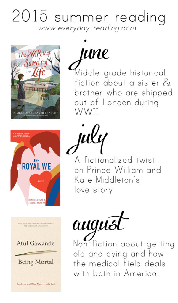 Three great books to read this summer!