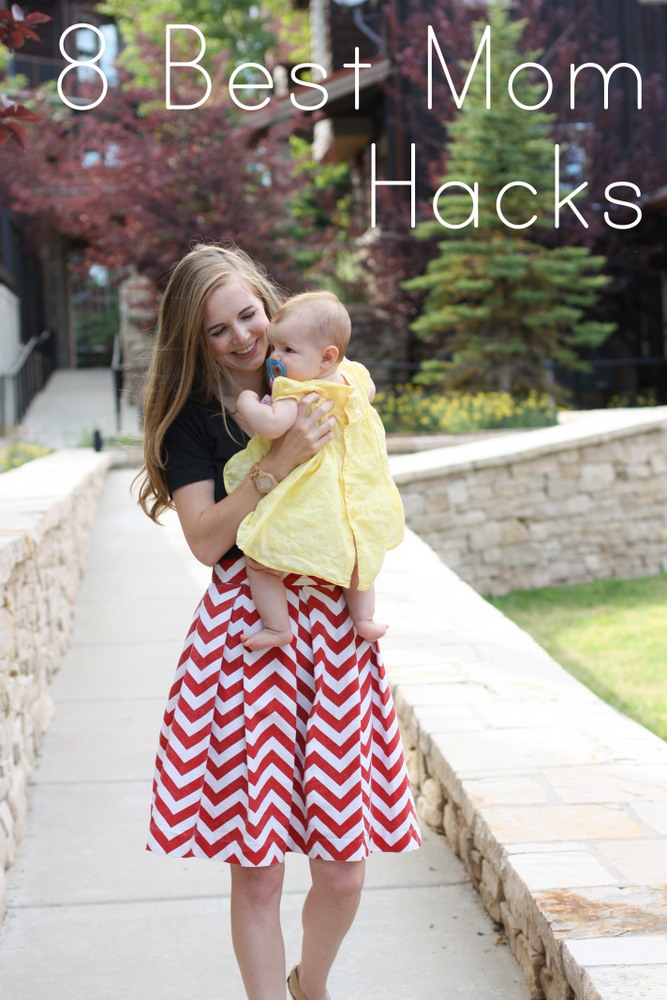 Simple life hacks to keep from losing your mommy mind on a daily basis