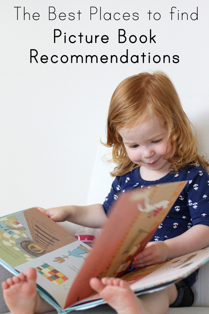 Wondering how to find picture books that are actually worth reading? Here's where one mama and children's librarian looks for her next favorite books!