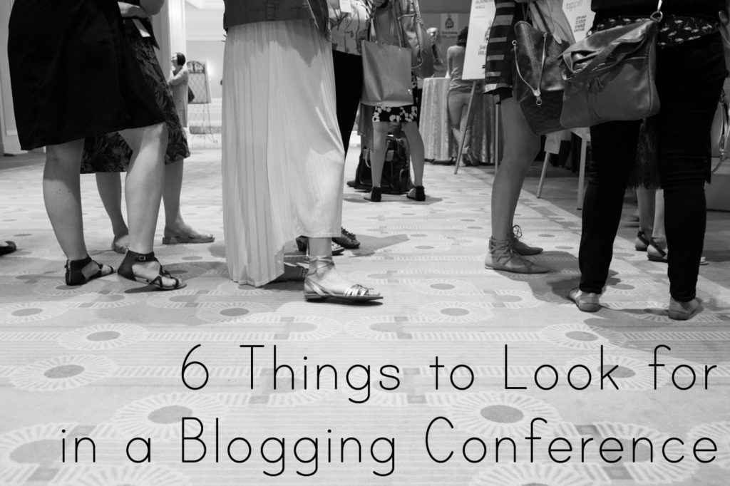 Wondering if you should attend a blogging conference or workshop? Here are some ways to figure out if it's for you!