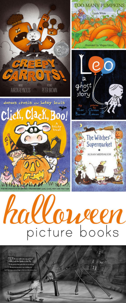 The best Halloween picture books!