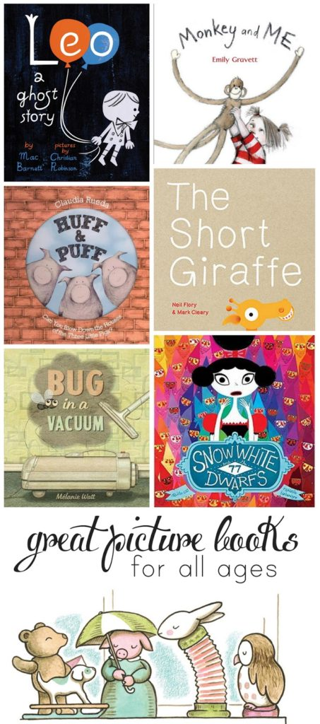 Picture books both you and your child will love!