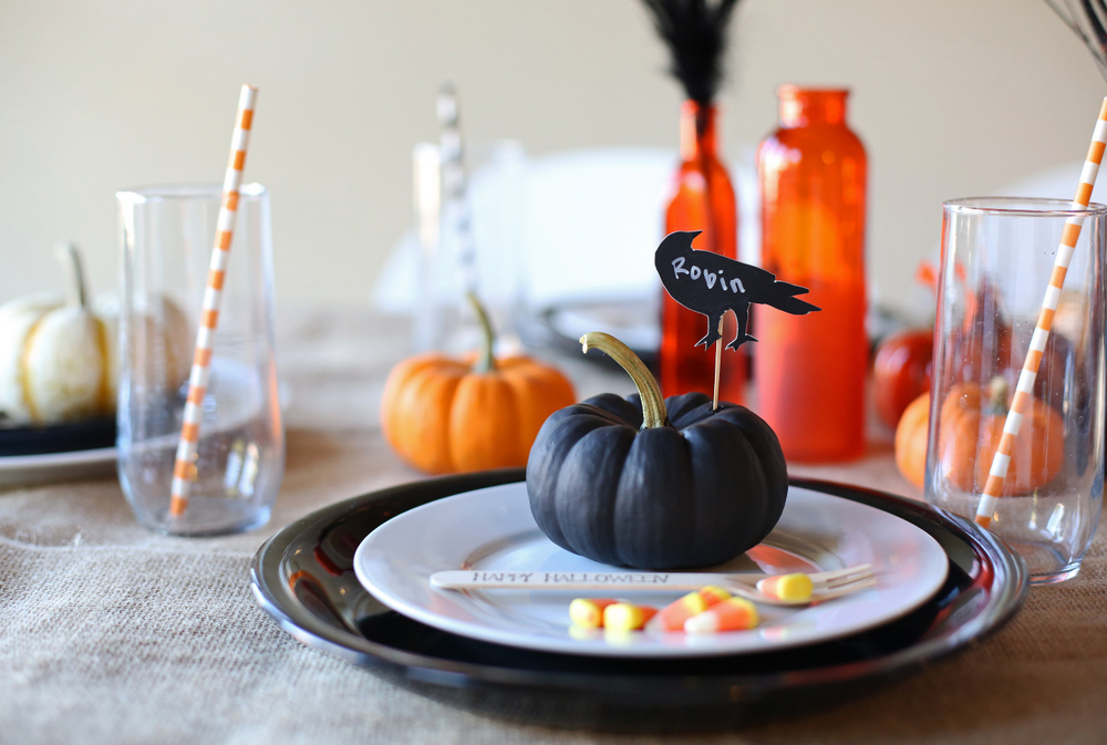 Halloween tablescapes