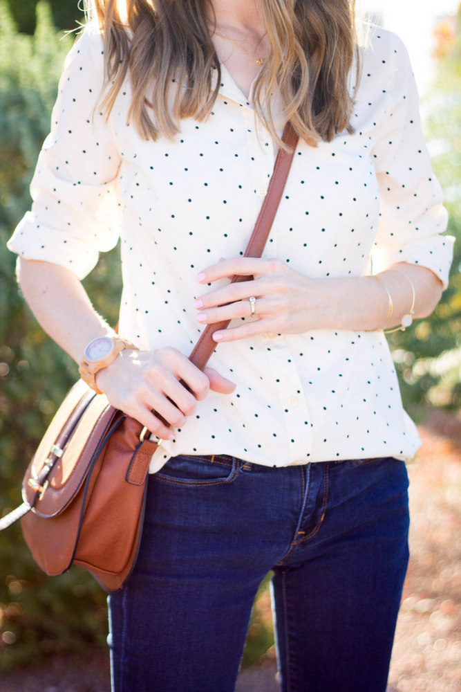 Classic and feminine fall style