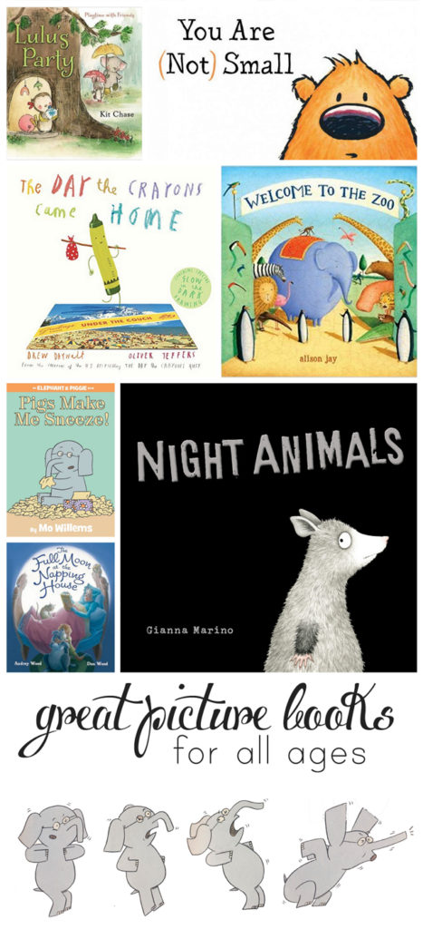 Great picture books picked by a mom and former librarian