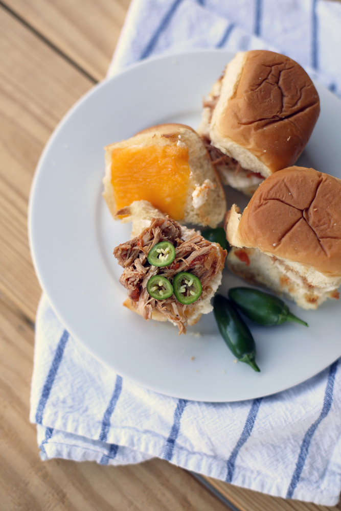 Sweet and savory sliders perfect for tailgating or watching the game at home
