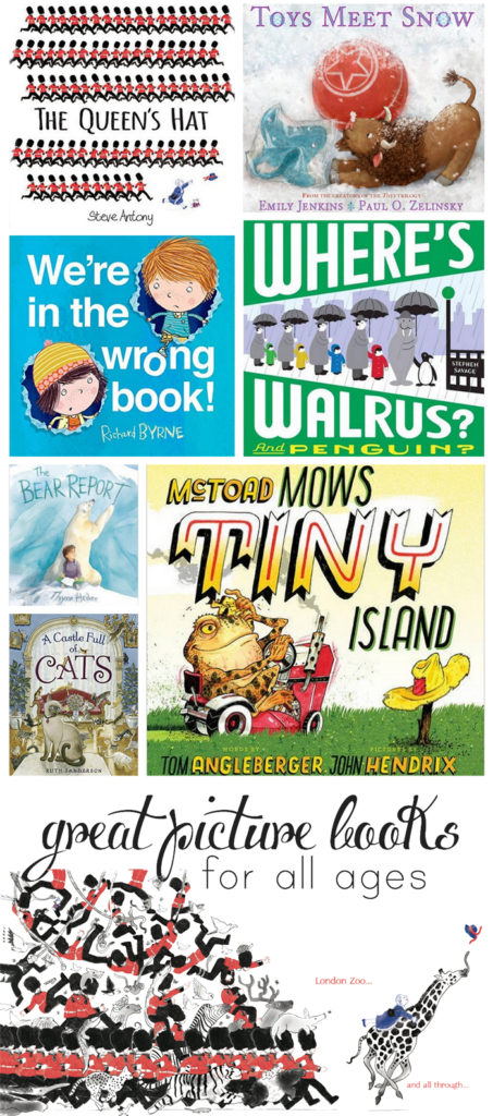 Fantastic picture books the whole family will enjoy, picked by a mom and children's librarian