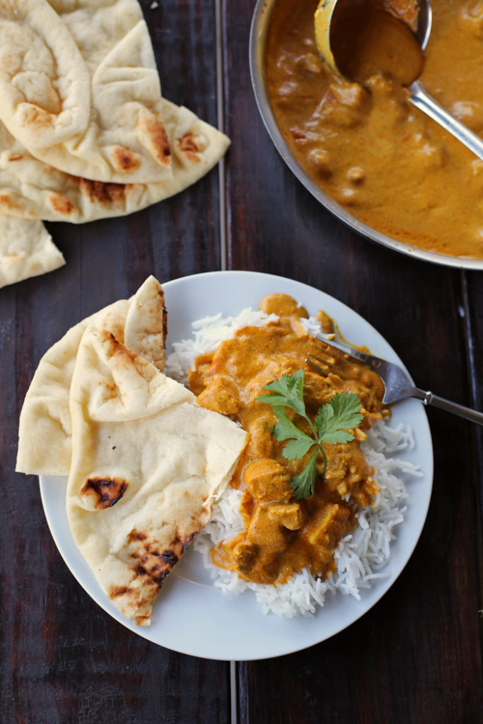 Skip the takeout and make this ridiculously good and super simple Indian curry at home.