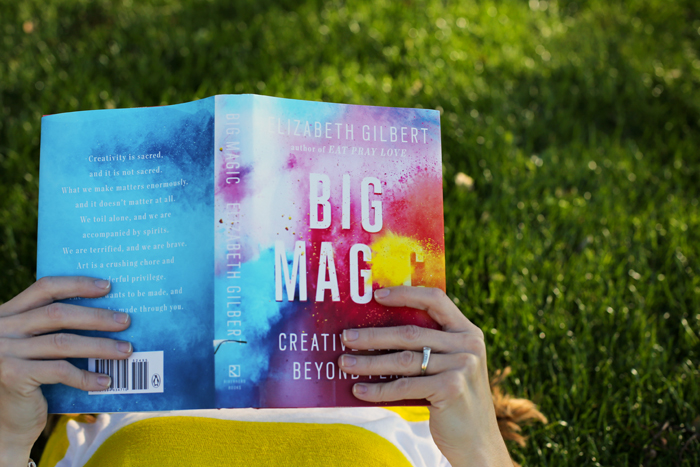 Big Magic is one of the best books you could read in January to kick off the new year right! It's a quick read and so encouraging.
