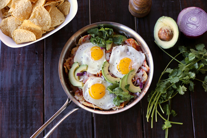 chilaquiles recipe with eggs