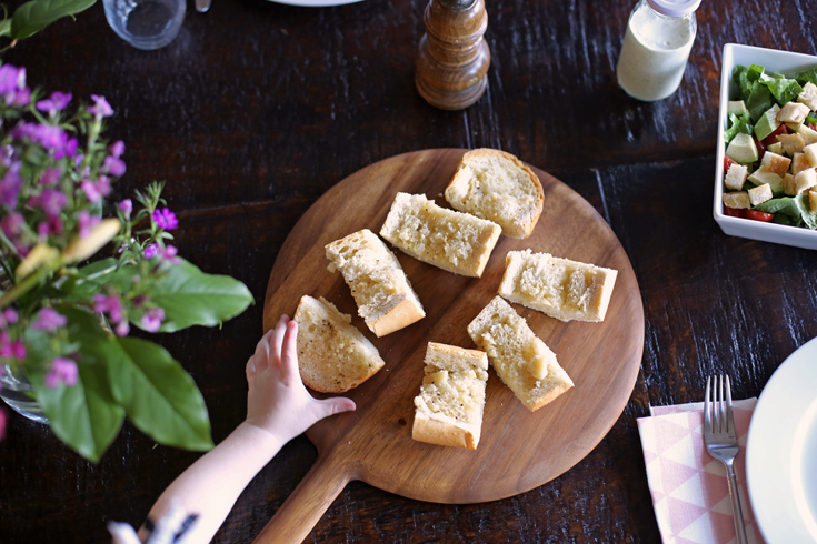 fast garlic bread