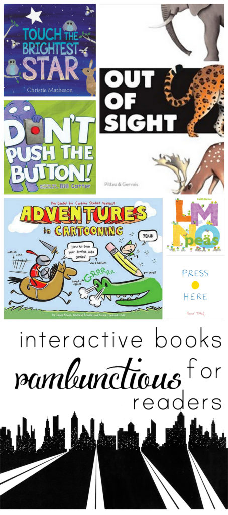 Have a kid who gets bored with regular picture books? Try one of these interactive ones instead!