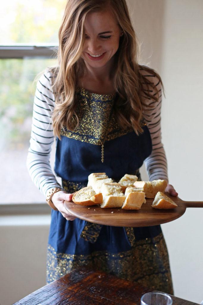 A super fast and easy garlic bread recipe