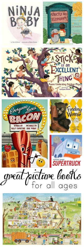 A collection of great picture books your children will love (and so will you!)