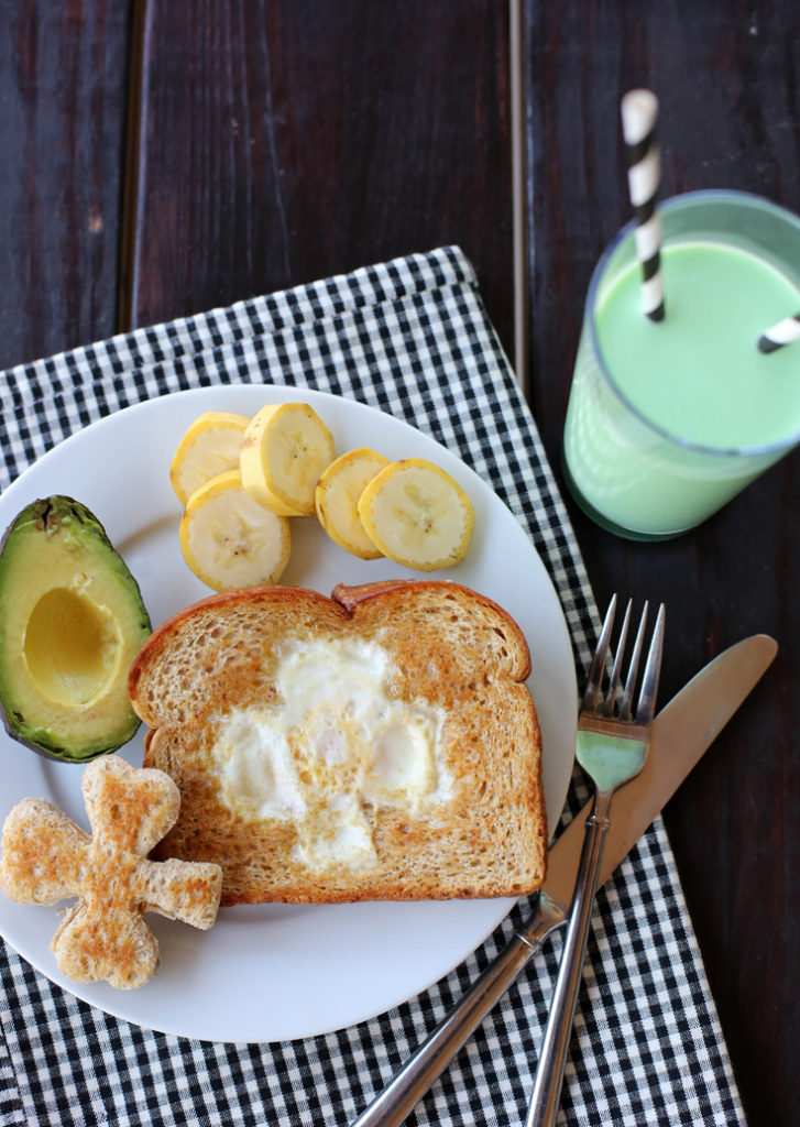 A fun and healthy St. Patrick's Day breakfast. Plus, it's so easy!